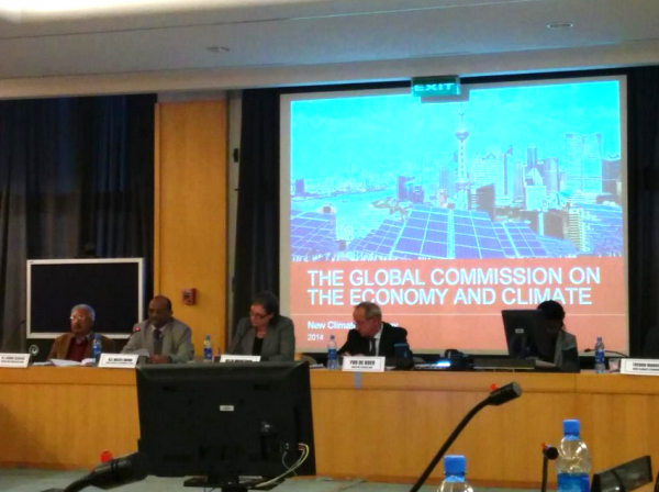 The Ethiopia Launch of the New Climate Economy Report in Addis Ababa on September 16