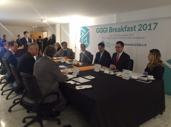 GGGI Breakfast Roundtable