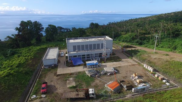 The Somosomo hydroelectric power plant located on the island of Taveuni. Photo Credit: Clay Energy