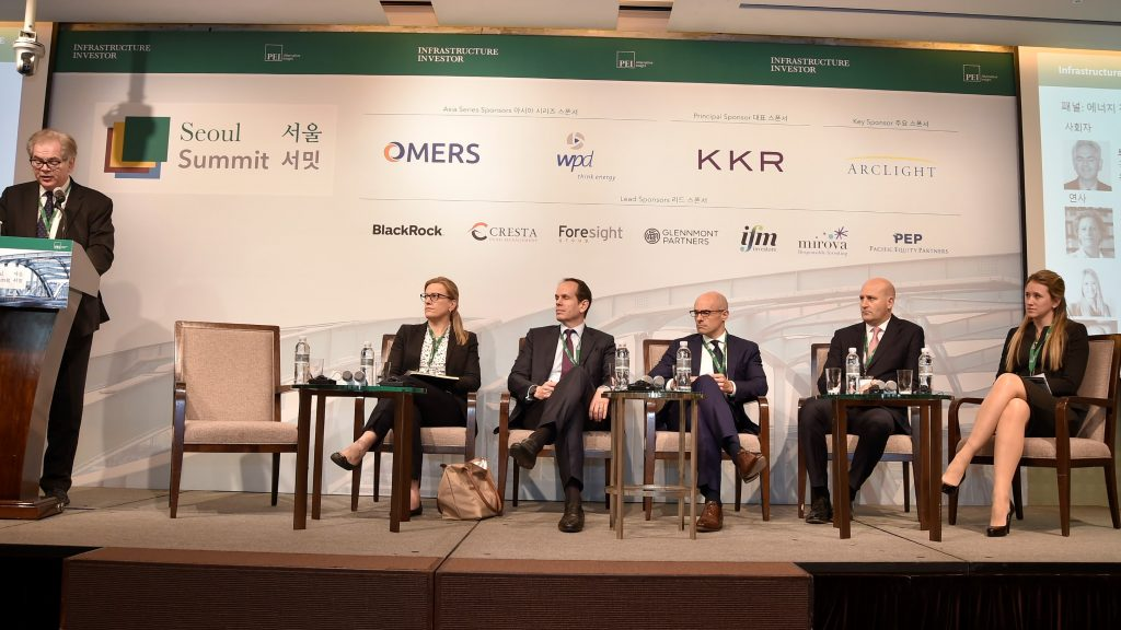GGGI takes part in the Annual Infrastructure Investors Summit in